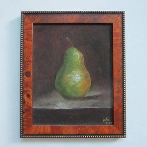 Fine Art Green Apple By Julie Johnson 2001